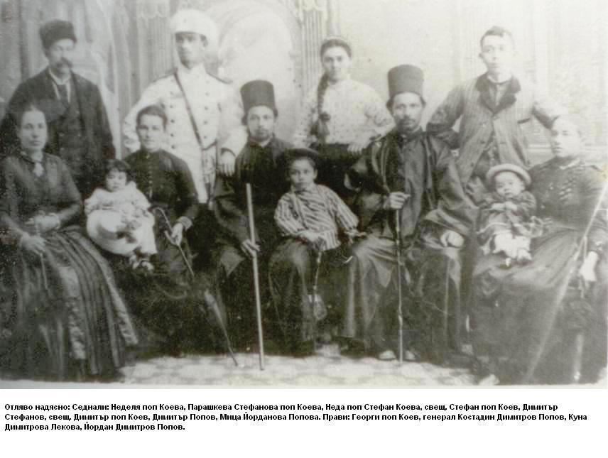 семейството на поп Кою
