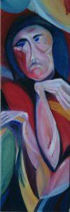 Тъга - картина на Габриела Цанева