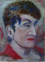 Портрет на Надежда - картина на Габриела Цанева