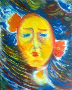 Душа в ада - картина на Габриела Цанева