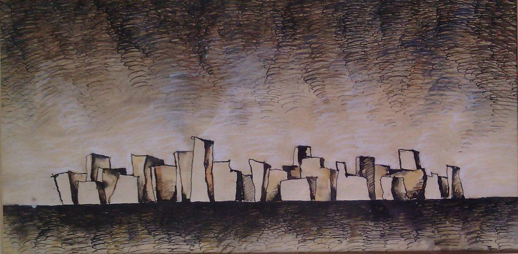 Град Бразилия - художник Марио Митев
