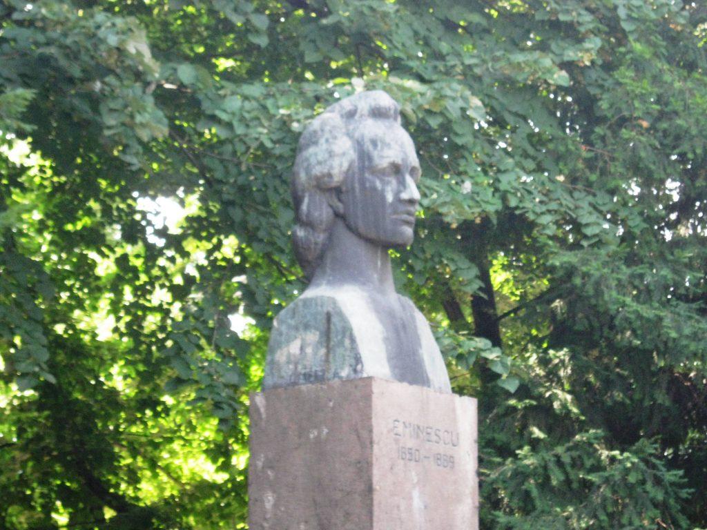 Паметник на Михай Еминеску, Гюргево, Румъния