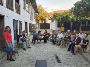 Литературно четене в Деня на поезията - ССП, Русе, 01.10.2019