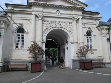 Входът на гробище Беллу, Букурещ