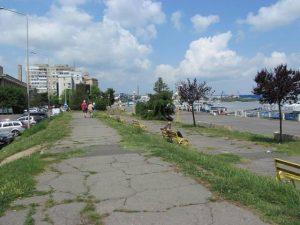 Тулча, крайбрежието