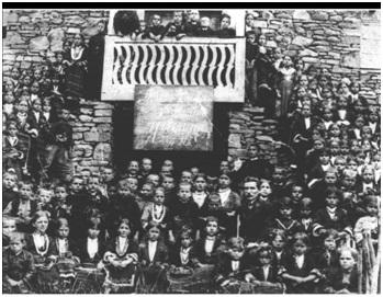 Училището в Доганхисар, 1919 г.