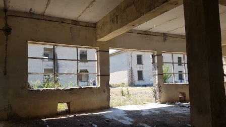 Порутените сгради на о. Белене, 2020 - сн. Теодора Копчева