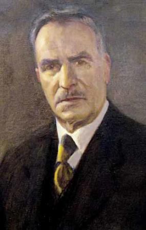 Портрет на Елин Пелин, худ. Сергей Ивойлов