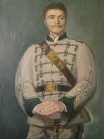 Портрет на Левски, худ. Сергей Ивойлов, НВИМ