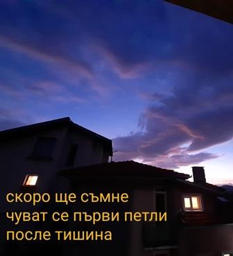 """""""Зазоряване"""" - фотохайга на Иванка Попова-Велева"""