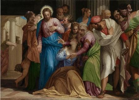 """""""Покръстването на Мария Магдалена"""", худ. Паоло Веронезе"""", ок. 1547-48 г."""